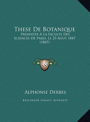 These de Botanique