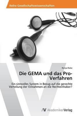 Die GEMA und das Pro-Verfahren