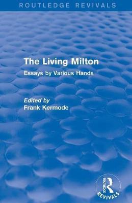 The Living Milton (Routledge Revivals)