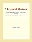 A Legend of Montrose (Webster's Portuguese Thesaurus Edition)