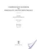 Comprehensive Handbook of Personality and Psychopathology , Adult Psychopathology