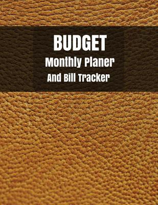 Budget monthly planner and Bill Tracker
