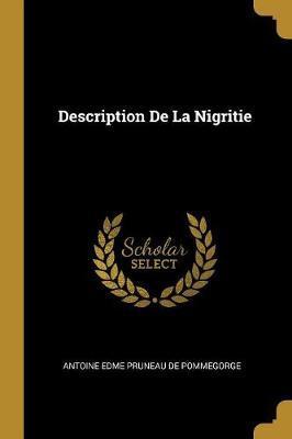 Description de la Nigritie