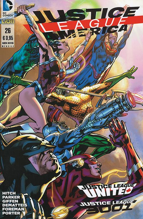 Justice League America n. 26