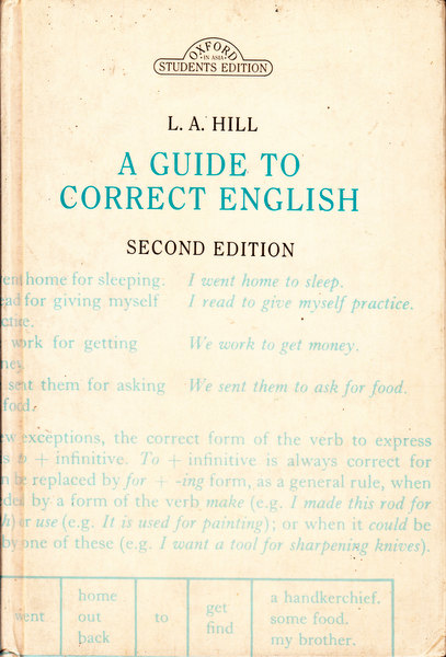 A Guide to Correct English