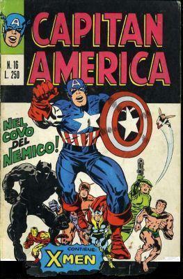 Capitan America n. 1...