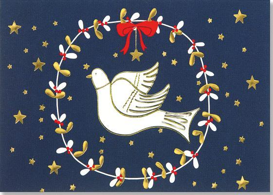 Dove of Peace Small Boxed Holiday Cards