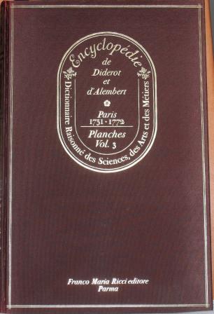 Encyclopédie, Tome III