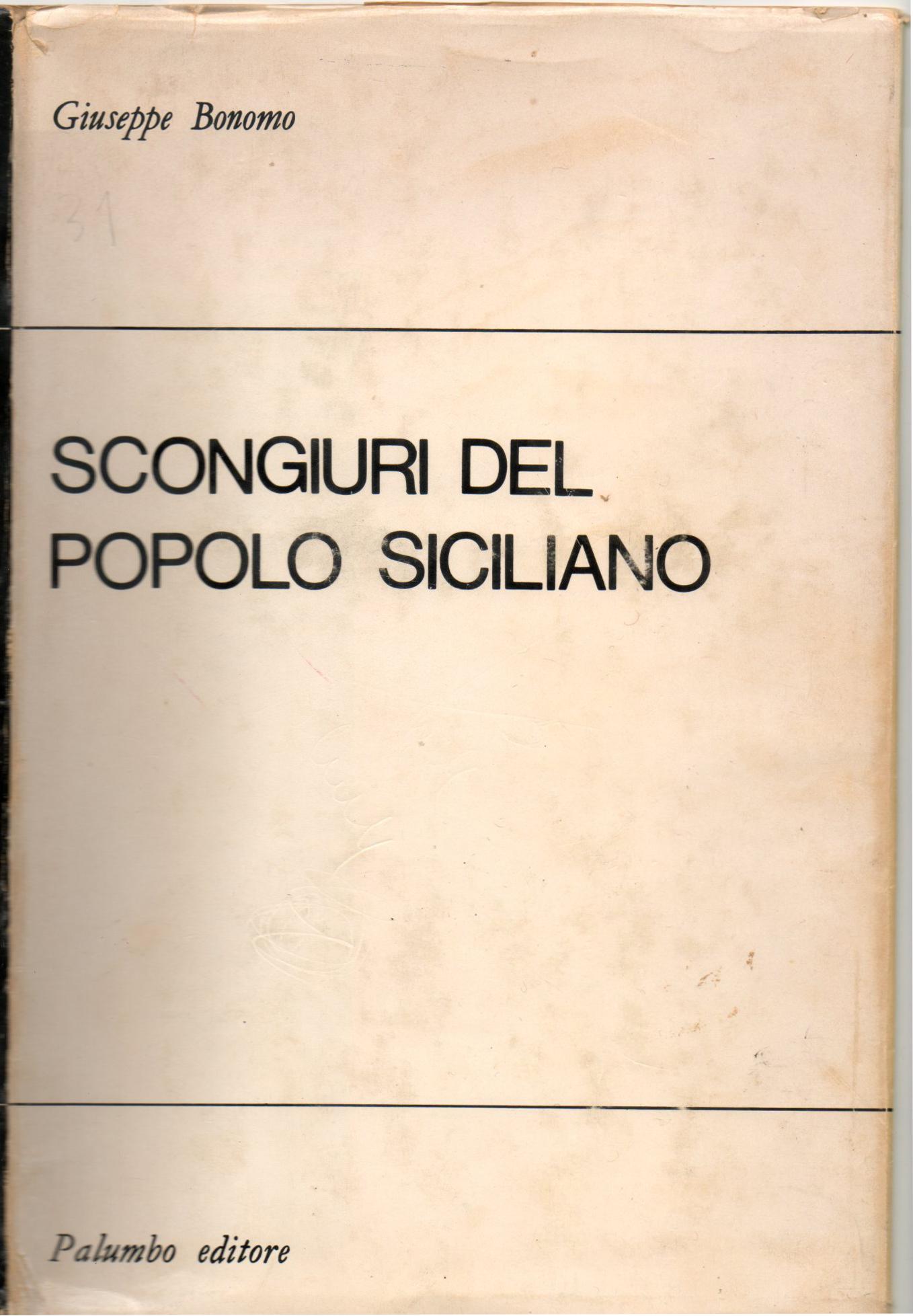 Scongiuri del popolo siciliano
