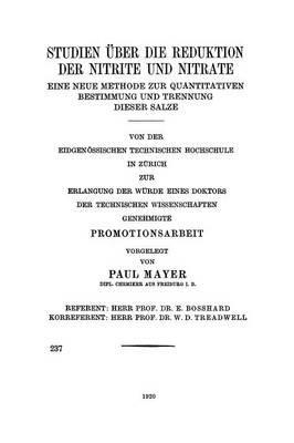 Studien Über Die Re...