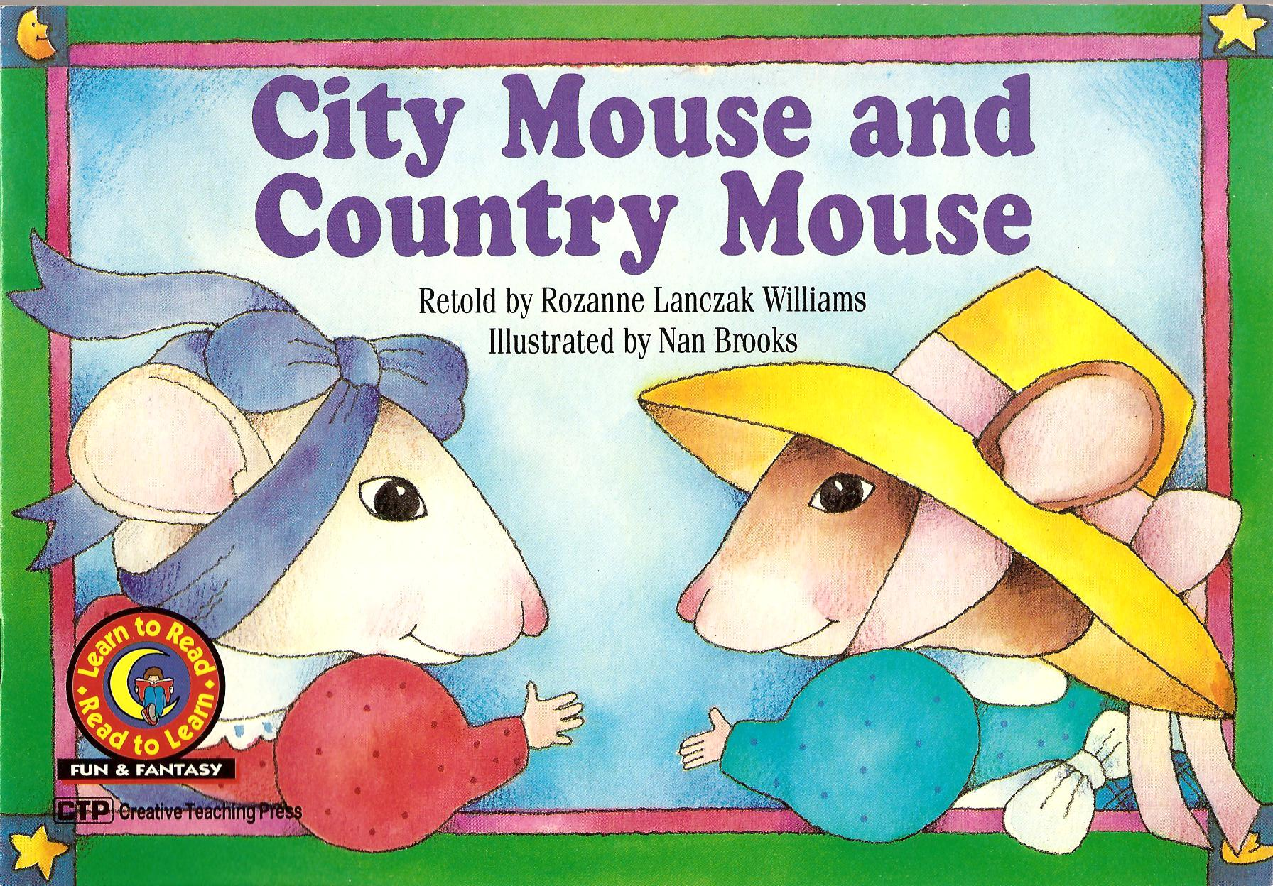 City Mouse & The Country Mouse