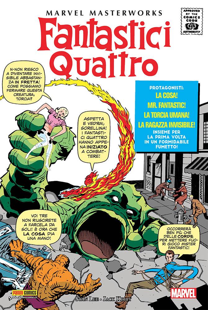 Marvel Masterworks: I Fantastici Quattro vol. 1