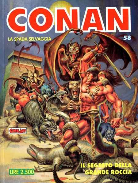 Conan la spada selvaggia n. 58