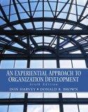 An Experimential Approach to Organization Development
