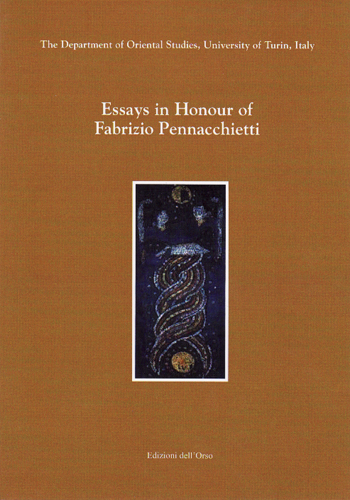 Essays in honour of Fabrizio Pennacchietti