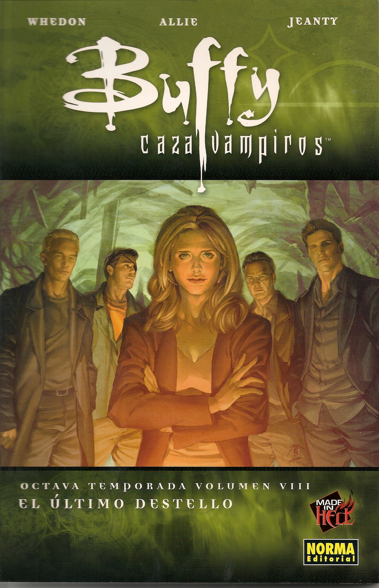 Buffy cazavampiros. Octava temporada, Vol.8