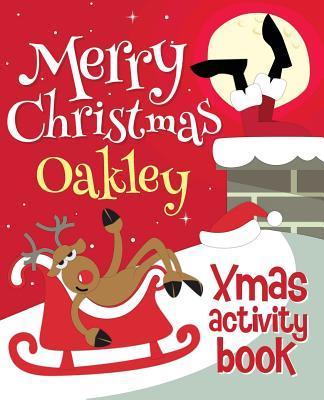 Merry Christmas Oakley - Xmas Activity Book