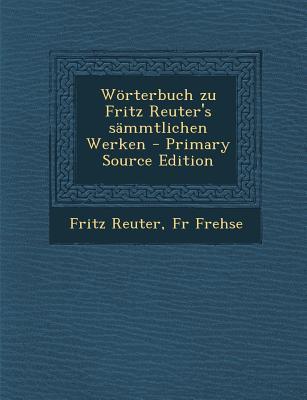 Worterbuch Zu Fritz ...