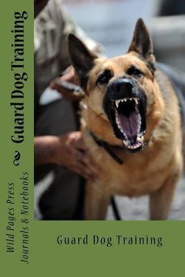 Guard Dog Training Journal Notebook