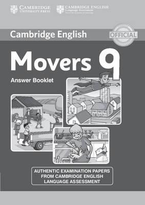 Cambridge English Young Learners 9. Movers 9. Answer Booklet
