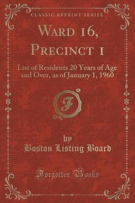 Ward 16, Precinct 1