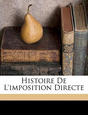 Histoire de L'Imposition Directe