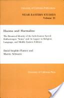 Haoma and Harmaline