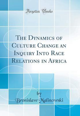 The Dynamics of Culture Change an Inquiry Into Race Relations in Africa (Classic Reprint)
