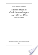 Salmon Macrins Gedichtsammlungen von 1528 bis 1534