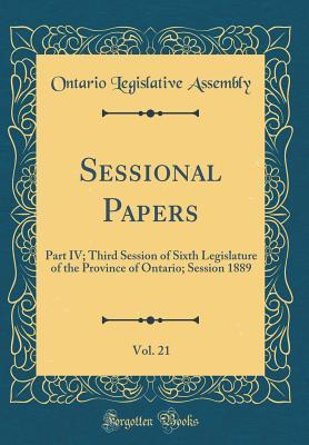 Sessional Papers, Vol. 21