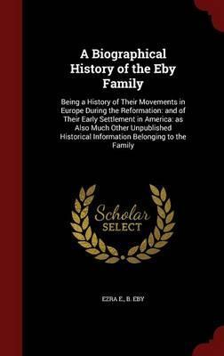A Biographical Histo...