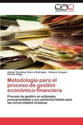 Metodología para el proceso de gestión económico-financiera