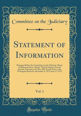 Statement of Informa...