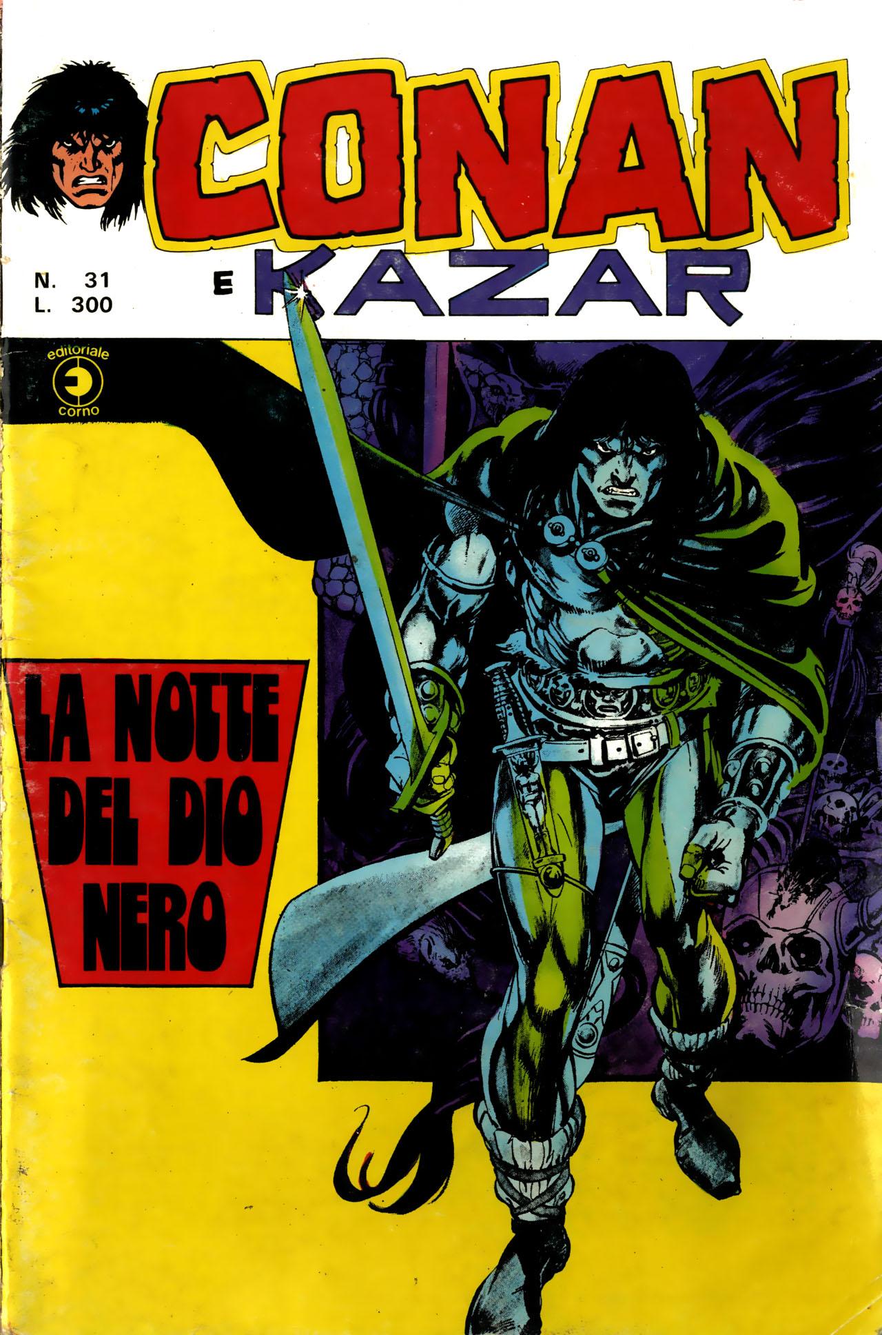 Conan e Ka-zar n. 31