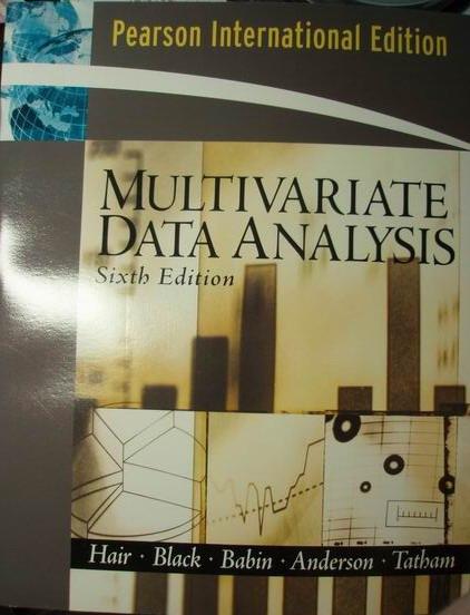 Multivariate Data Analysis, 6/e
