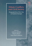 Ethnic conflicts and civil society