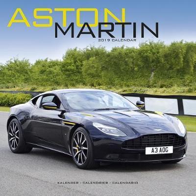 Aston Martin Calendar 2019 (Square)