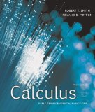 e-Study Guide for: Calculus : Early Transcendental Function by Robert T. Smith, ISBN 9780073309446