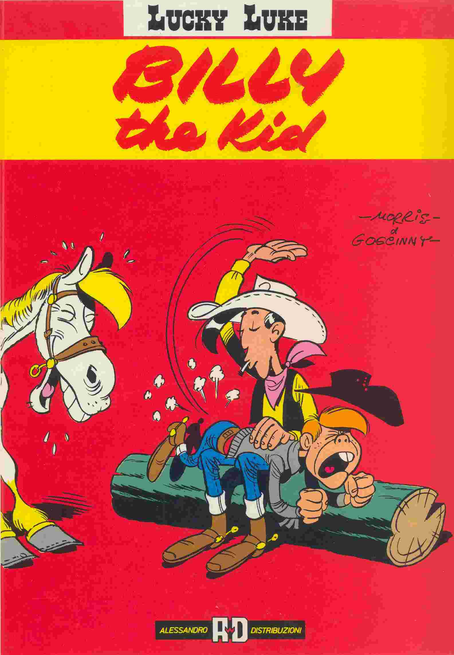 Lucky Luke - Billy the kid