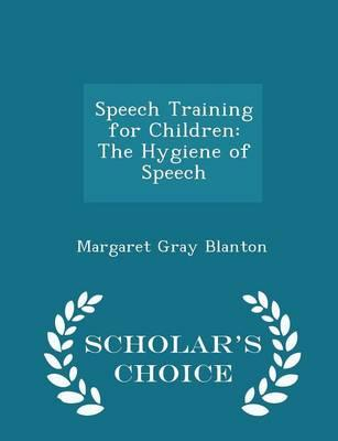 Speech Training for Children