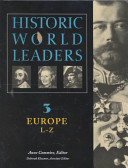 Historic World Leaders: Europe (L-Z)