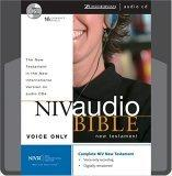 NIV Audio Bible New Testament Voice Only CD