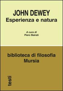 Esperienza e natura