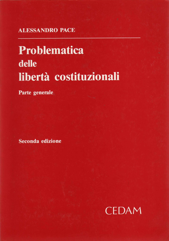 Problematica delle liberta costituzionali