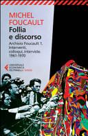 1961-1970: Follia e discorso