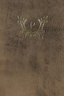 Monogram P Any Day Planner Notebook