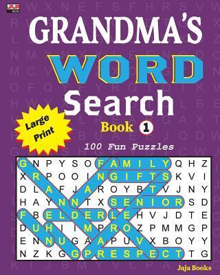 GRANDMA'S WORD Search Book 1