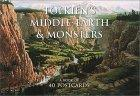 Tolkien's Middle-Earth and Monsters Postcard Book