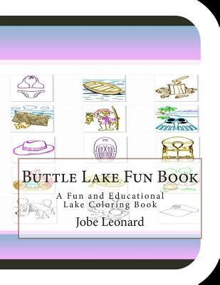 Buttle Lake Fun Book Coloring Book