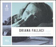 Oriana Fallaci legge Lettera a un bambino mai nato